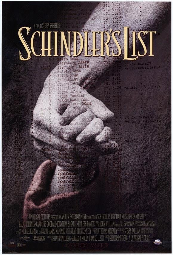 辛德勒的名单 电影海报