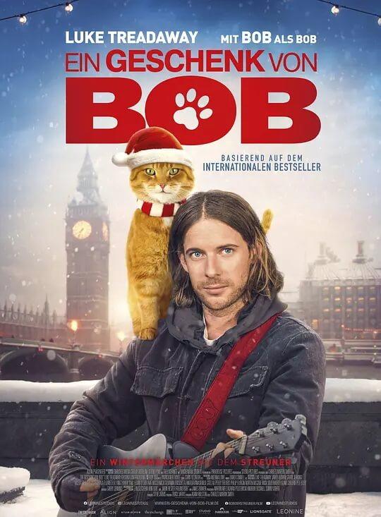 鲍勃的圣诞礼物 电影海报