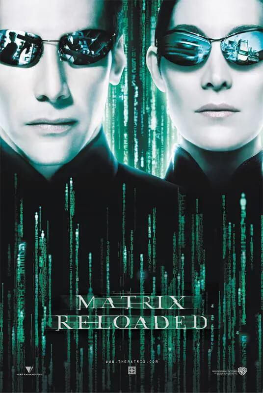 黑客帝国2 电影海报