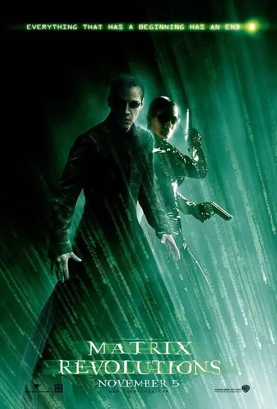 黑客帝国3 电影海报